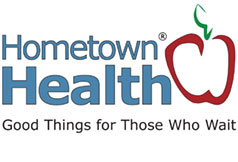 hometow health tv logo homepage